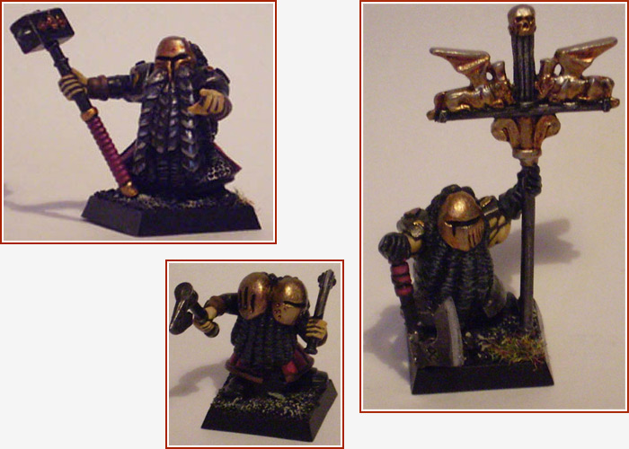 Chaos Dwarf Characters