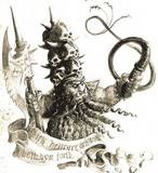 A picture of a Chaos Dwarf slaver from the 7th edition rulebook.
