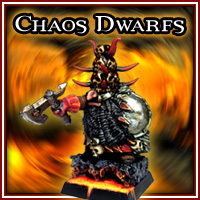 Chaos Dwarf Lord by Snotling